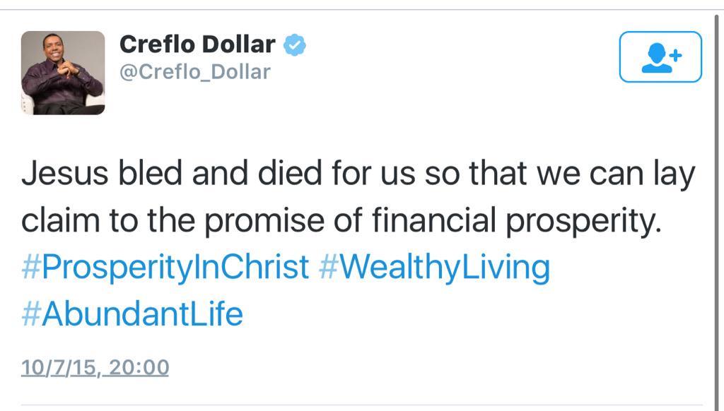 Creflo lies